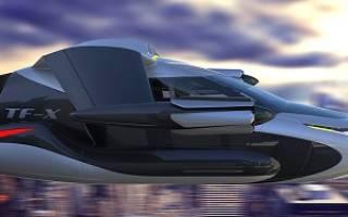 Компанией terrafugia создан летающий автомобиль