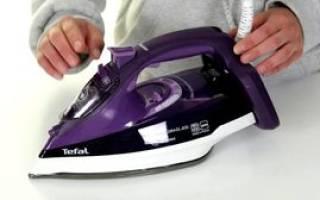 Разборка и ремонт утюга тефаль своими руками
