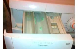 Почему в стиральной машине остается порошок и не смывается?