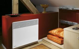 Электрический, газовый и водяной конвекторный обогреватель