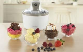 Как работает мороженица: устройство, технология приготовления