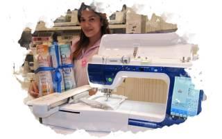 Как выбрать бытовую и профессиональную вышивальную или швейно-вышивальную машину