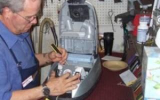 Как разобрать двигатель пылесоса в домашних условиях?