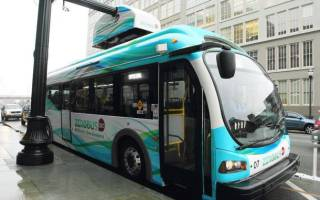 Представлен новый городской автобус на электроприводе