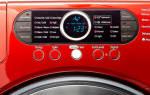 Коды ошибок и неисправностей стиральной машины самсунг (samsung)
