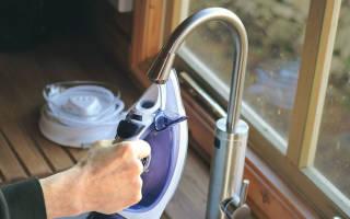 Как почистить от накипи утюг филипс или тефаль в домашних условиях?