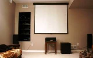 Установка домашнего кинотеатра: правила и способы монтажа