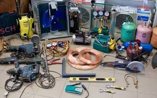Правила и порядок установки кондиционера своими руками