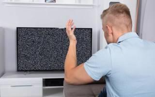 Почему на жк телевизоре звук есть, а изображения нет