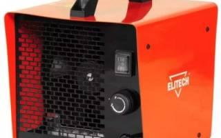Рейтинг лучших электрических тепловых пушек 2018 года