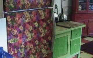 Декупаж холодильника своими руками салфетками: фото и описание