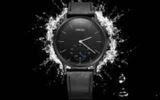 Обзор умных часов со стрелками meizu smart watch mix
