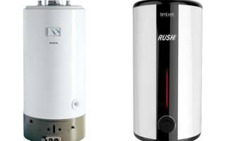 Газовый накопительный водонагреватель: конструкция, виды, монтаж