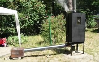Как делается домашняя коптильня для газовой плиты своими руками