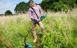 Какой триммер для травы лучше купить: бензиновый или электрический