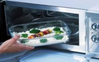 Какую посуду можно применять для микроволновки, а какую нельзя