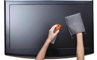 Чем протирать экран жк телевизора