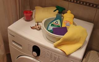 Средство для чистки стиральной машины: жидкие моющие, промышленные препараты, народные рецепты