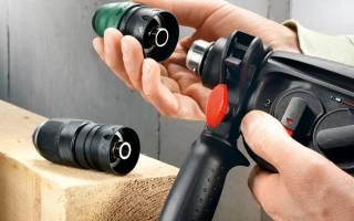 Зажимной патрон для перфоратора: устройство, замена, ремонт