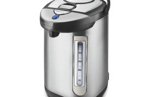 Как очистить термопот от накипи уксусом, лимонной кислотой и другими средствами