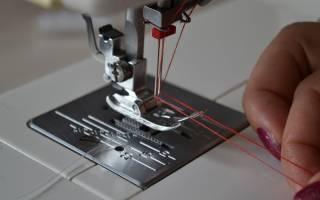 Как шить двойной иглой на швейной машине