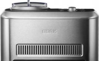 Мороженица борк: преимущества, особенности модели e801