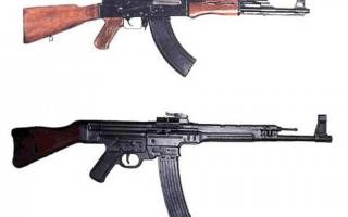 Создан гибрид автомата калашникова ак-47 и австрийского glock 17