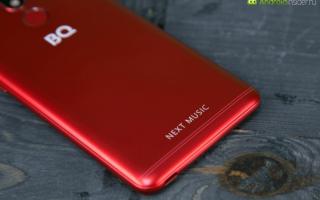 Новый смартфон bq next music разработан специально для меломанов
