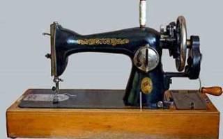 Устройство и принцип работы швейной машины
