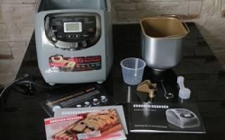 Мультиварка хлебопечка: популярные модели и особенности их работы