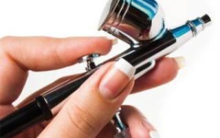 Аэрограф для ногтей: как выбрать хороший аппарат и научиться им работать