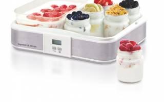 Йогуртница с функцией приготовления творога и сметаны
