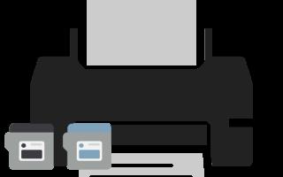 Как поменять картридж в принтере, достать его и вставить обратно