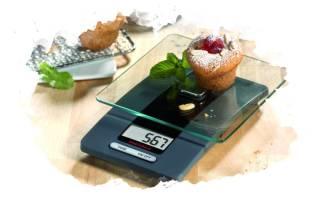 Как выбрать настольные электронные кухонные весы с чашей?