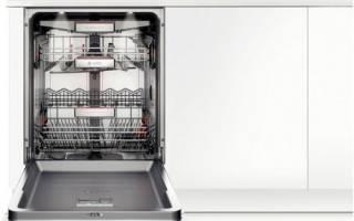 Посудомоечная машина с открытой панелью управления