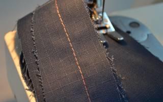 Почему швейная машинка петляет