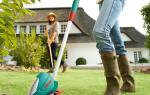 Триммер или газонокосилка: чем лучше косить газон, что выбрать для неровного участка