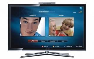Как настроить скайп для телевизора lg и самсунг смарт тв