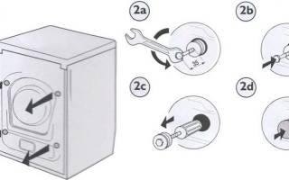 Почему при отжиме стиральная машина прыгает, трясется, вибрирует?