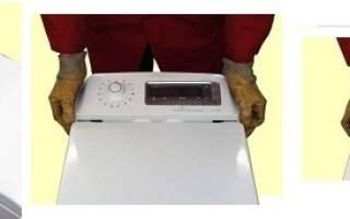 Как снять верхнюю крышку стиральной машины индезит: пошаговая инструкция