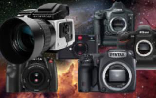 Рейтинг зеркальных фотоаппаратов 2018 года: лучшие модели от бюджетных до самых дорогих