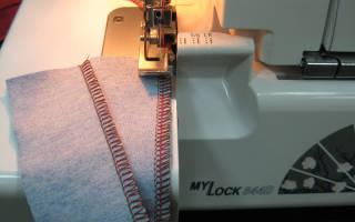 Чем отличается оверлок от швейной машины