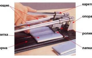 Как правильно резать кафельную плитку, керамогранит механическим и электрическим плиткорезом