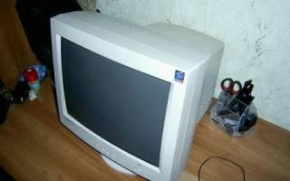 Как из старого жк монитора сделать телевизор своими руками